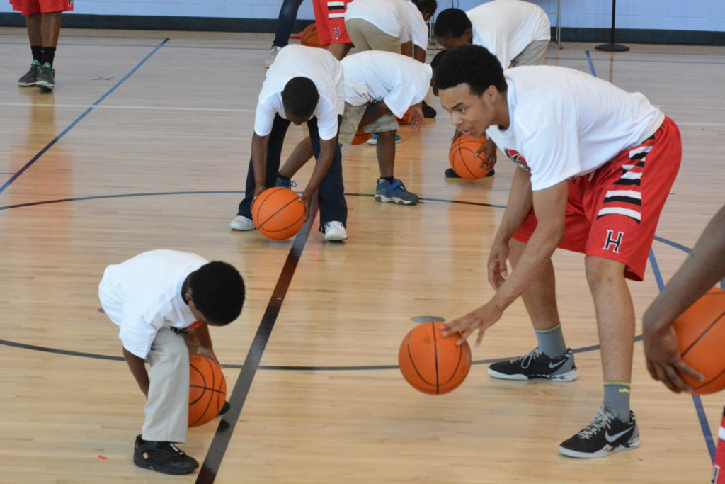 Hughes Rothenberg Bball Clinic